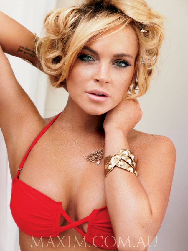 Photo Maxim Australia Lindsay Lohan 1