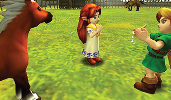 games the legend of zelda ocarina of time 3d feature