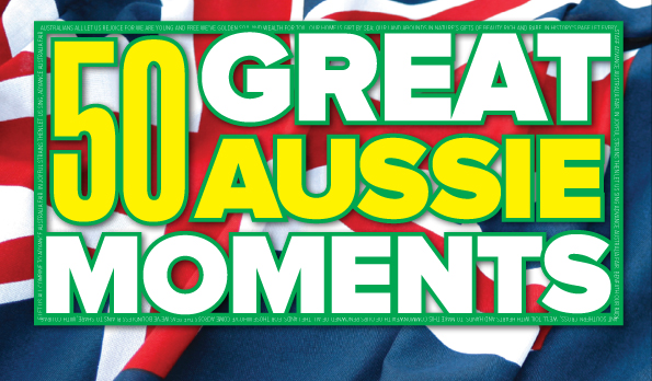 50 Great Aussie Moments